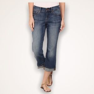 LUCKY BRAND Easy Rider Cropped Jeans